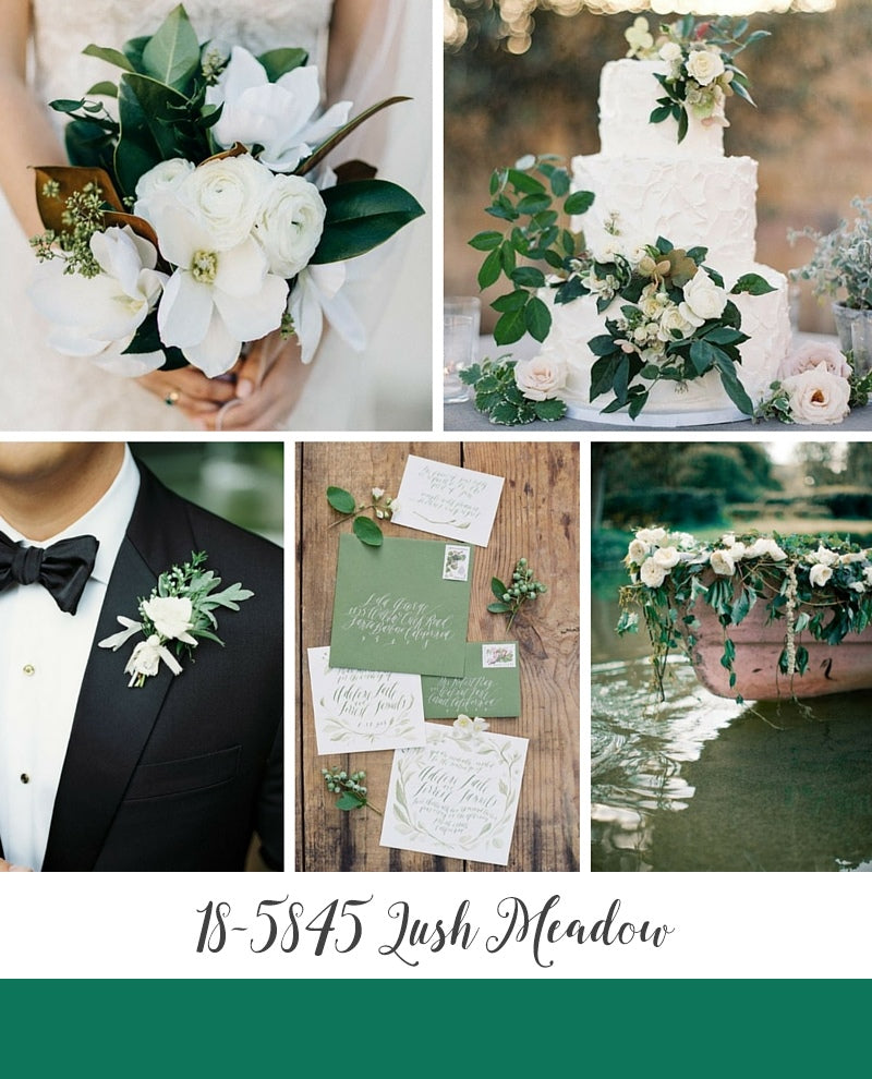 Lush Meadow green wedding inspiration