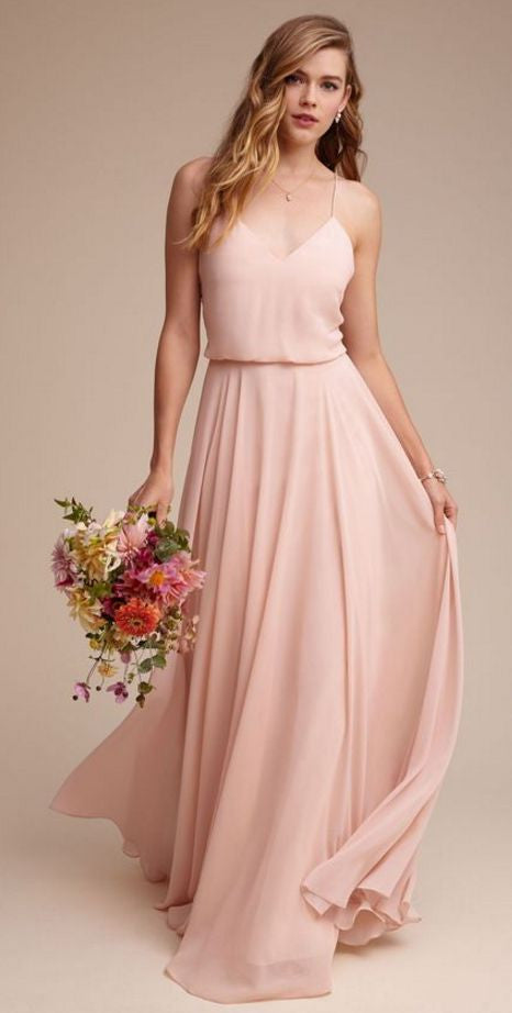 BHLDN bridesmaids gown