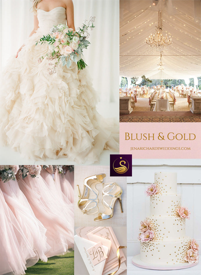 Blush and gold wedding inspiration