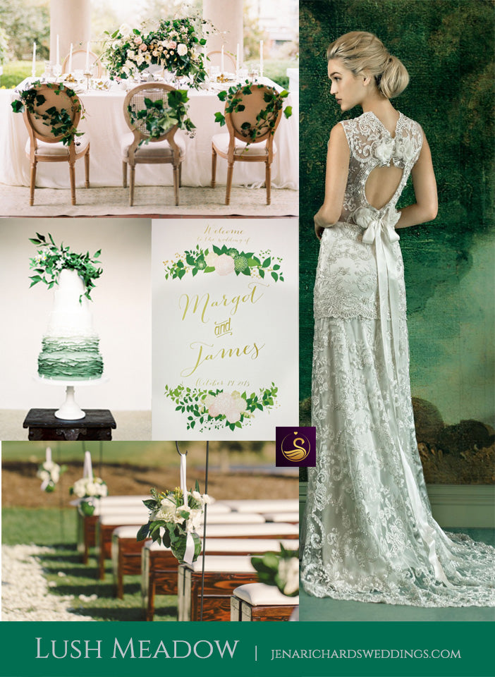 Lush Meadow wedding inspiration