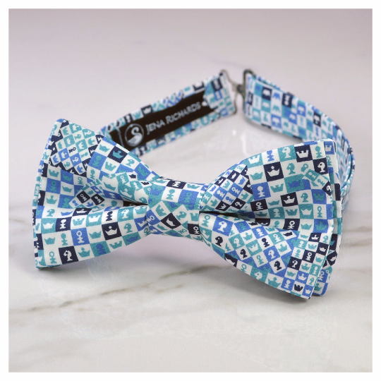 Liberty chess bow tie