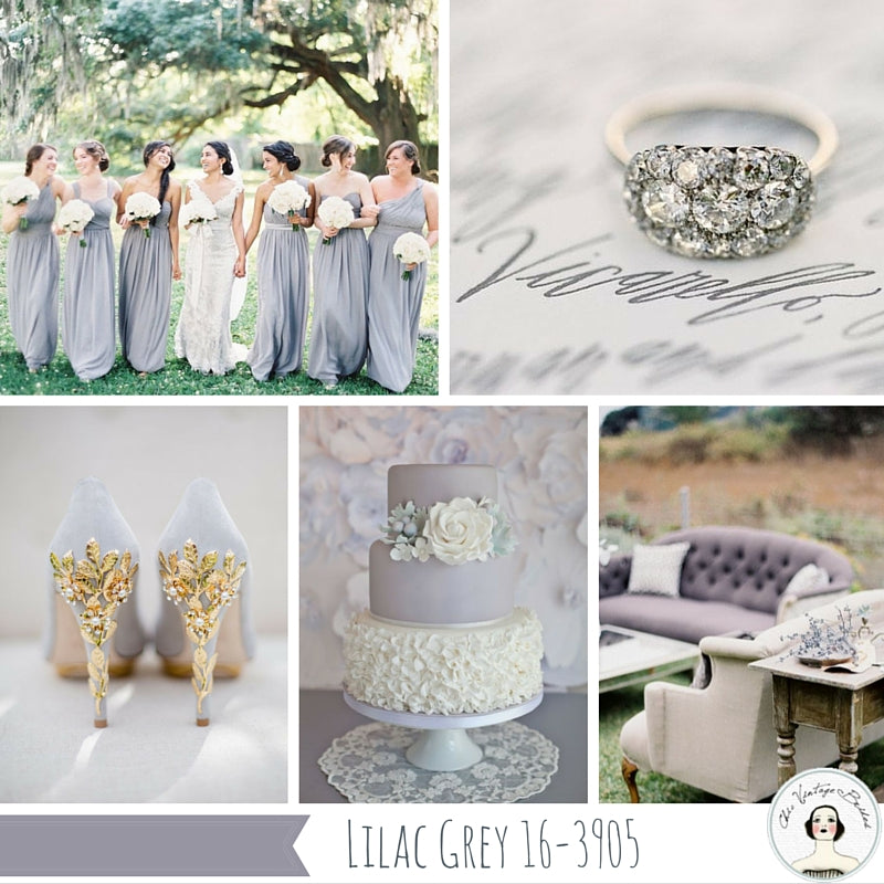 Lilac Gray wedding ideas