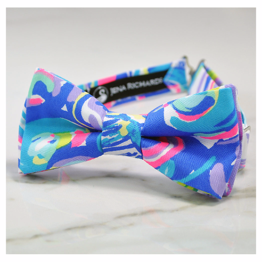 gillty pleasure fabric bow tie
