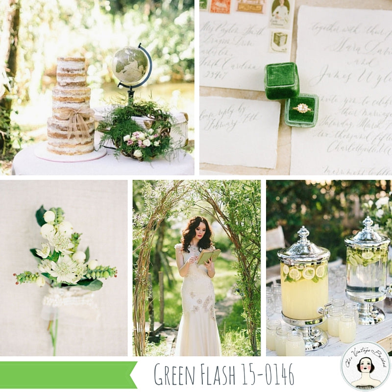 Flash Green wedding inspiration