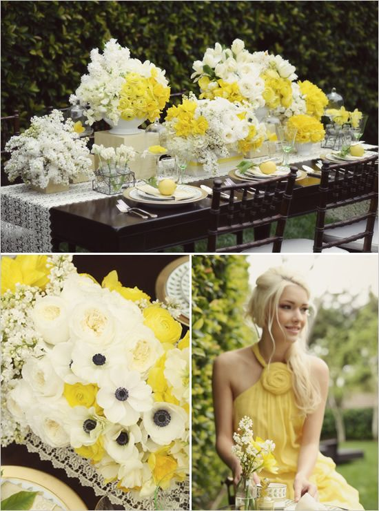 Buttercup ideas for weddings