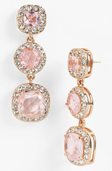 Rose Kate Spade Earrings