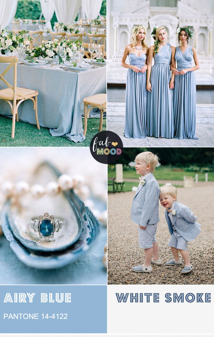 Airy Blue wedding ideas and inspiration