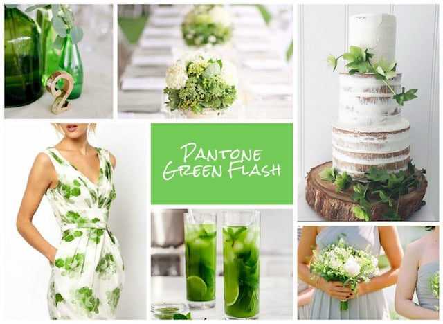 Green Flash wedding inspiration