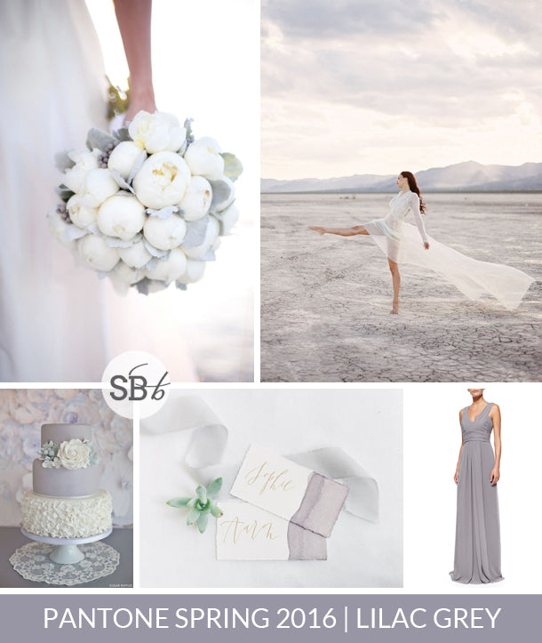 Lilac Gray wedding inspiration and ideas