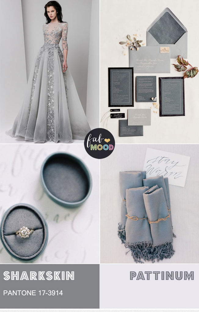 Sharkskin wedding ideas
