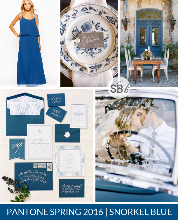 Snorkel Blue wedding inspiration