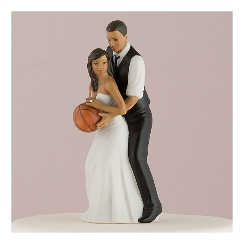Ethnic basketball cake topper