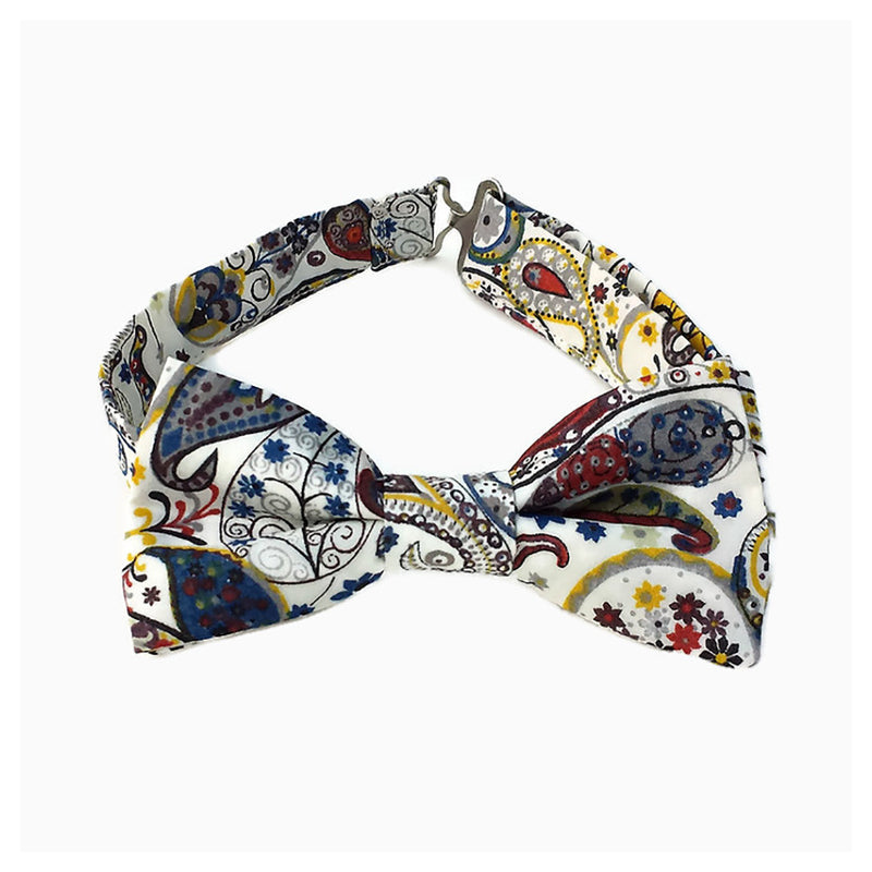 Paisley bow tie in Liberty of London cotton