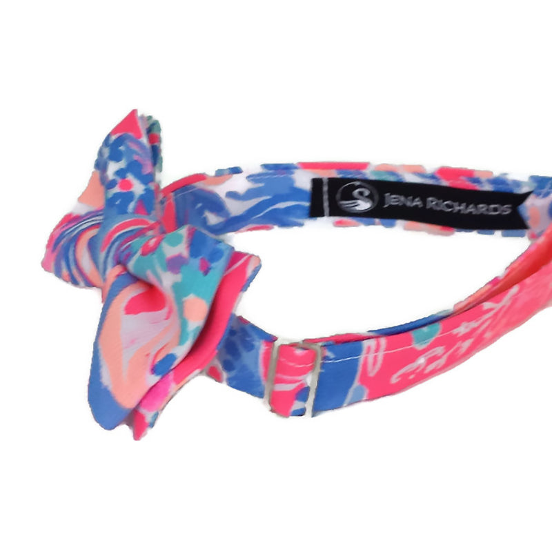 Fun Bow Tie for Boys and Men in Pink, Blue and Aqua