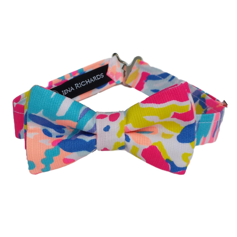 Pink Colorful Bow Tie for Boys, Babies and Men