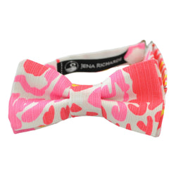 Bright Pink Bow Ties