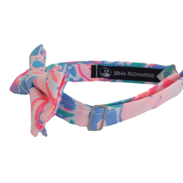Pink and Blue Bow Ties for Boys, Babies and Men