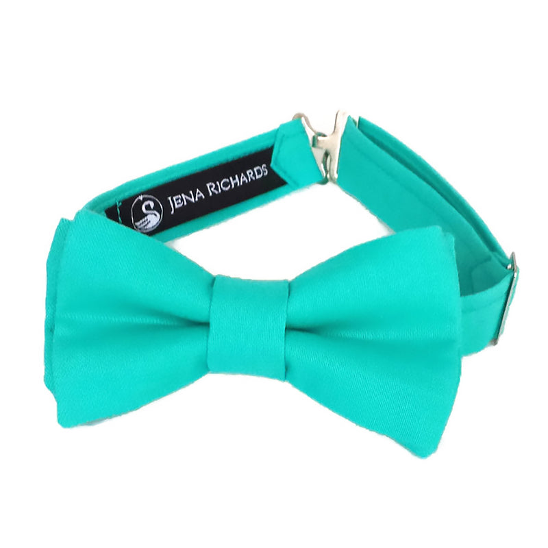 Aqua Bow Tie for Boys and Men