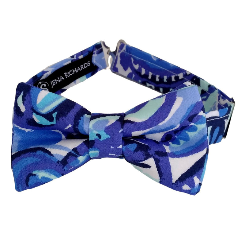 Fun Blue Bow Tie for Boys, Babies, Toddlers and Men
