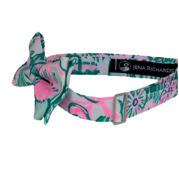 Fun Green and Pink Bow Ties for Men, Boys and Baby