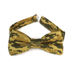 Camo bow tie for men and boys