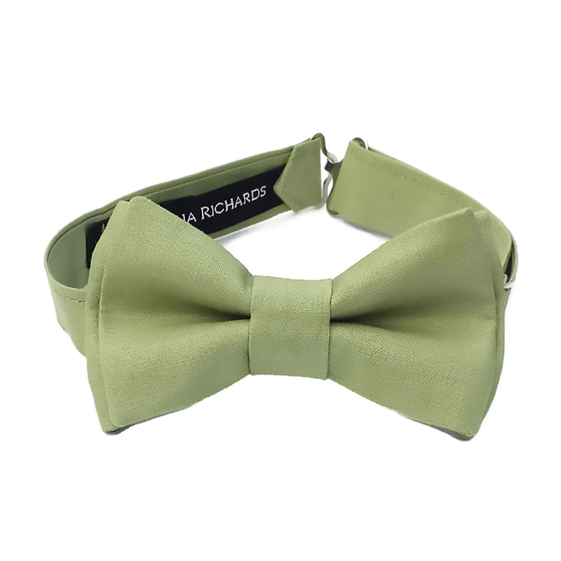 Sage Green Bow Tie for Boys, Babies and Men