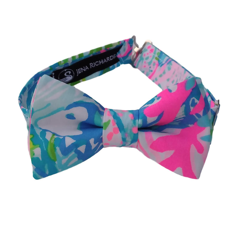 Colorful Fished Bow Ties for Boys, Men and Babies