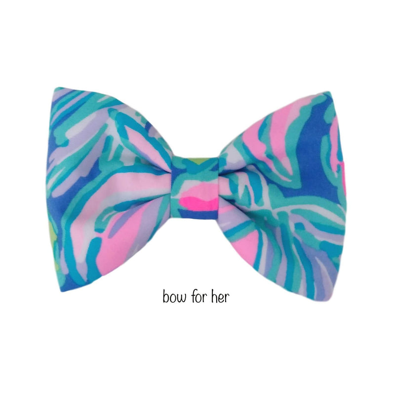 Colorful Dog Bow Ties and Dog Bows
