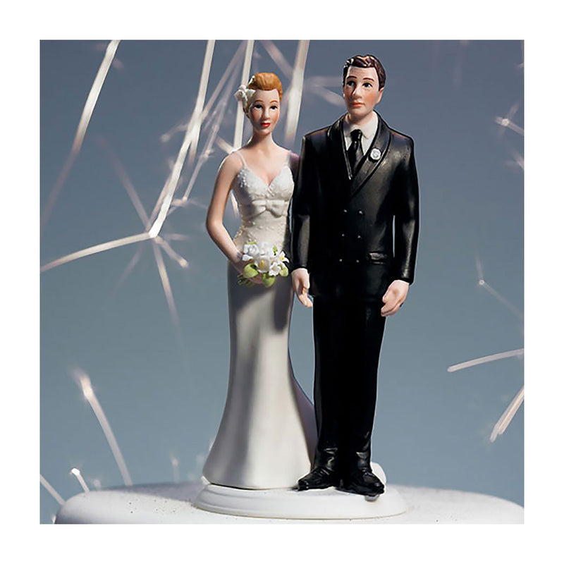 The Love Pinch cake topper caucasian