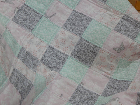 Pieced Crib Quilt