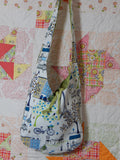 Crossbody Reversible-Everything Bag-Multi/Green