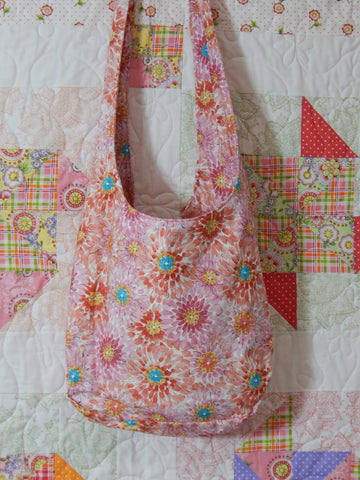 Crossbody Everything Bag-Pink Floral