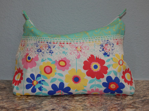 Cosmetic Bag-Large Flower Power