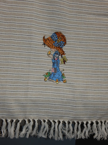 Embroidered Kitchen Towel Lil Chick