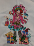 Embroidered Kitchen Towel-Sassy Shopper