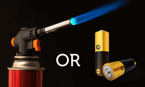 Butane or Battery power