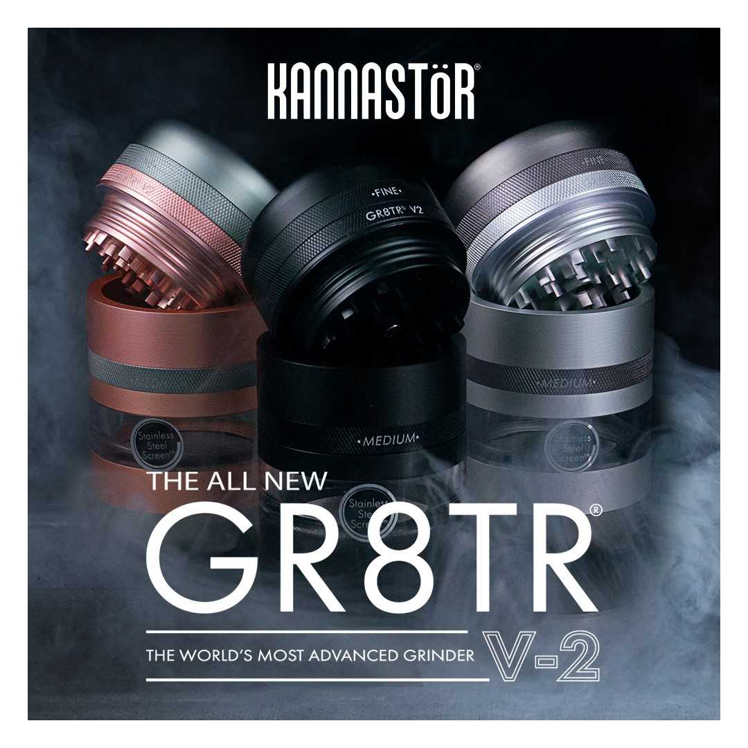 New From Kannastor  - The GR8TR V2 Grinder