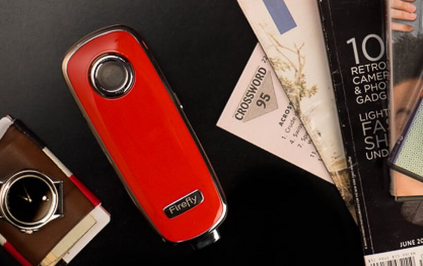Firefly Portable in beautiful red finish