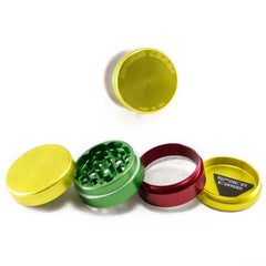 Space Case Small Aluminium Grinder 50mm - 4 pc Rasta