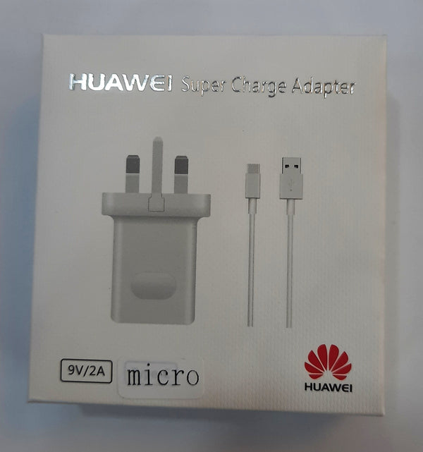 Charger - Huawei Super Charge Adapter 9V/2A (Micro)