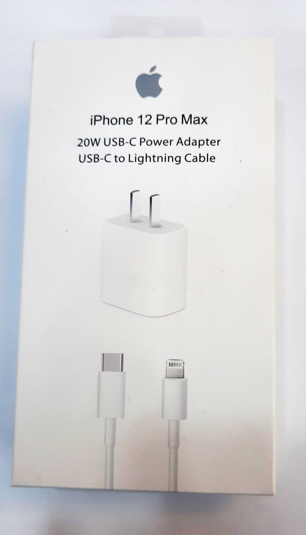Charger - IPhone 12 Pro Max 20W USB-C Power Adapter