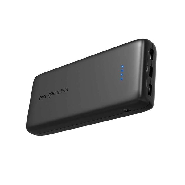 RavPower 32000mAh 3-Port Power Bank 3-Port Power Battery Pack