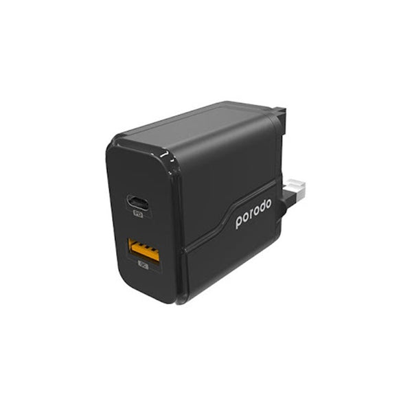 Porodo PD & QC 18W Wall Charger