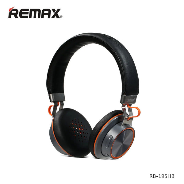 REMAX - RB-195HB - BLUETOOTH HEADPHONE WITH MICROPHONE - ebuy.lk