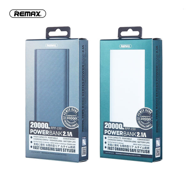 REMAX - 20000 mAh - RPP-150 - Power Bank - ebuy.lk