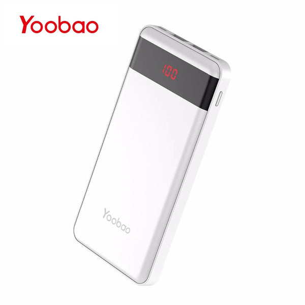 YOOBAO - P10000L -10000mAh  - Intelligent Identification - Quick Charge - Power Bank - ebuy.lk