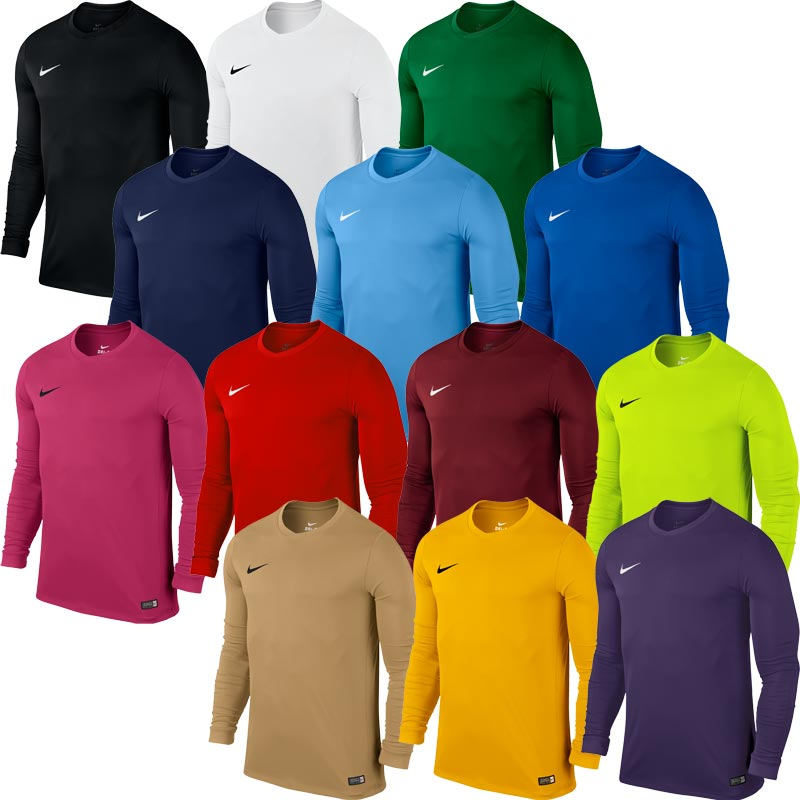 81b046fc907e Nike Park VI Long Sleeve Senior Football Shirts – Newitts MoD