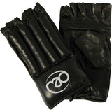 Gloves - Fitness Mad Fingerless Leather Punch Bag Mitts