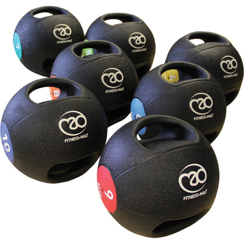 Strength - Fitness Mad Double Grip Medicine Balls