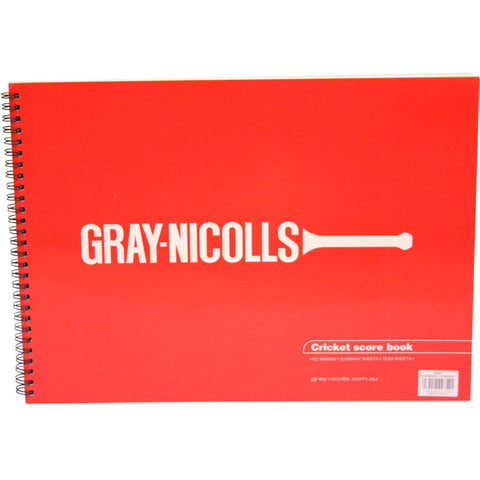 Accessories - Gray Nicolls Cricket Scorebooks